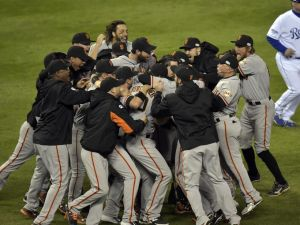 SF Giants win 2014 World Series