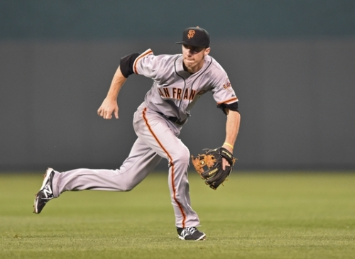Matt Duffy of the San Francisco Giants