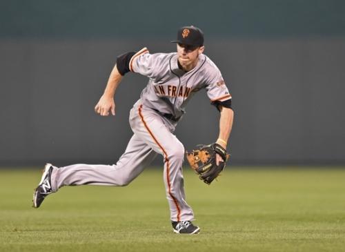 Matt Duffy of the San Francisco Giants