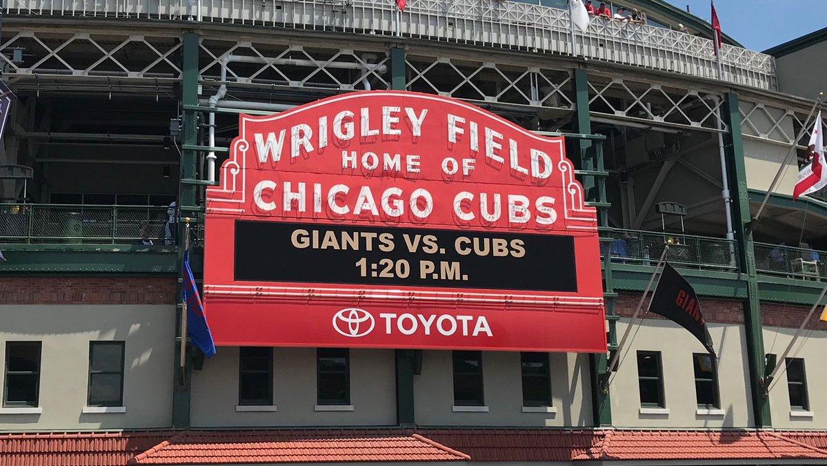San Francisco Giants vs Chicago Cubs