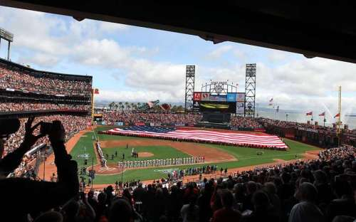 San Francisco Giants Opening Day