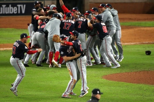 2019 World Series Game 7 - Washington Nationals v. Houston Astros