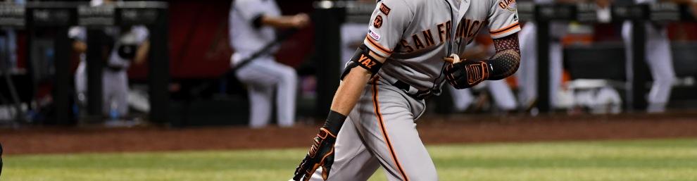 Mike Yastrzemski of the San Francisco Giants